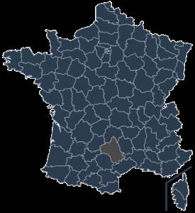 Etablissements scolaires dans l'Aveyron