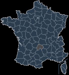 Etablissements scolaires dans le Cantal
